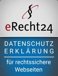 eRecht 24 - Datenschutz-Siegel
